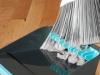 Recogedor que evita peluzas en la escoba