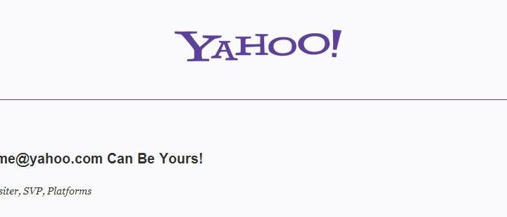 Yahoo borrará todas las cuentas que tengan 1 año de inactividad